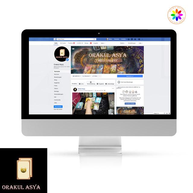 Referenzen Hilma Design Orakul Asya Facebook Seite